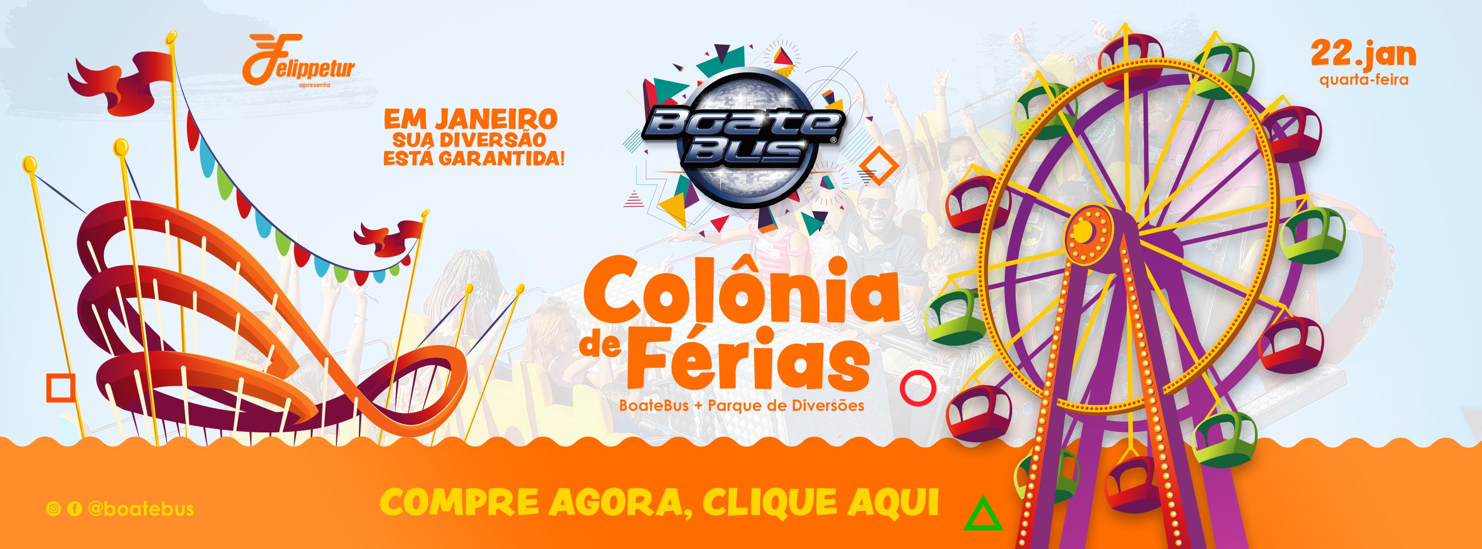 Colônia De Férias - Boatebus 2020